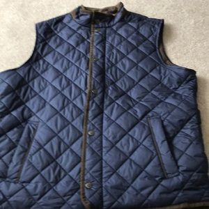 Peter Miller Essex Quilted Traveler Vest Mens L